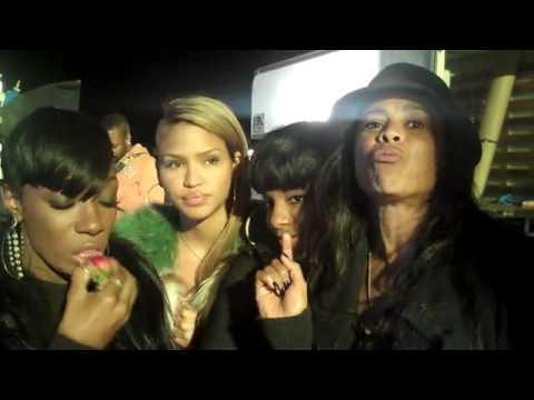 "Kalenna, Cassie, Dawn & Laurie Ann - Behind The Scene ""Hello Good Morning"""