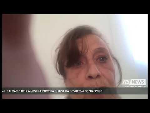 «IL CALVARIO DELLA NOSTRA IMPRESA CHIUSA DA COVID 19» | 02/04/2020