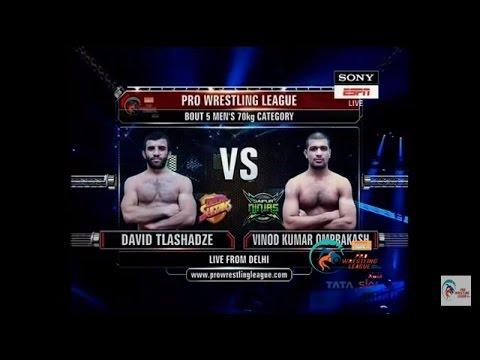 David Tlashadze VS Vinod Omprakash