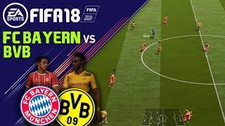 FIFA 18 FC Bayern München vs Borussia Dortmund⚽ Full Gameplay PMTV