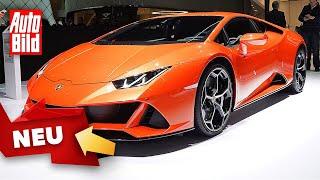 Lamborghini Huracan Evo (2020) Alexa - Amazon - Sprachassistent by Auto Bild