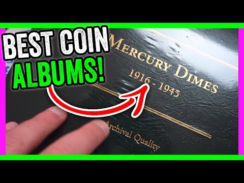 BEST COIN ALBUMS - LITTLETON COIN COMPANY GIVEAWAY!!