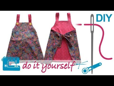 Tunika Josi – einfaches Kleid / Tunika nähen mit Zierstoff – Nähen für Anfänger
