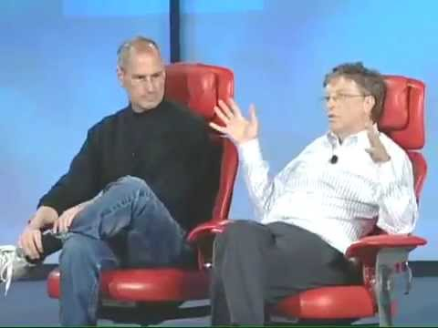 stevejobs - The interview with Steve Jobs and Bill Gates, one of the most important moments in the recent history of computing. A great teaching for people who love Appl...