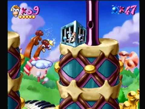 Rayman Playstation