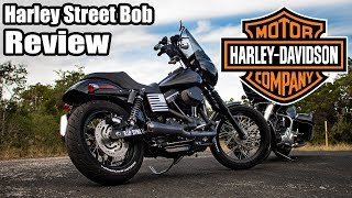 1. Harley Davidson Dyna Street Bob Review - 2,000 miles later