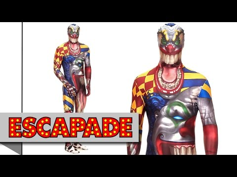 Morphsuit The Clown Halloween Costume - Halloween Fancy Dress Costume Ideas