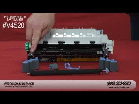 HP LaserJet 4200 Maintenance Kit Instructional Video