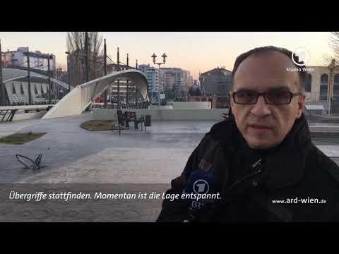 Die Brücke - Besuch in der nordkosovarischen Stadt  ...