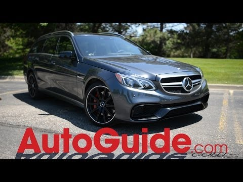 2014 Mercedes-Benz E63 AMG S-Model 4MATIC Wagon Review