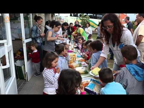 Excursión dos nenos da escola infantil Galiña Azul.