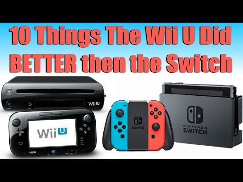 10 Things The Wii U Did Better Than The Switch