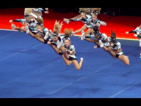 Cheer Extreme Cougars Wins Nca After Music Cuts Off!! Inspiring ~ Amazing
