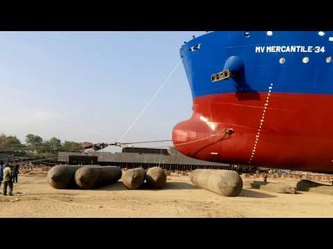 New Shipbuilding Factory of Meghna Group of Industries HD Video 720P