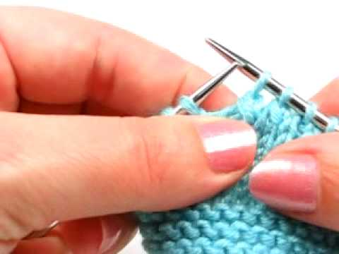 Surjete doble - slip one, knit two together, pass slipped stitch over decrease
