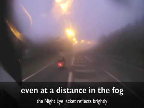Macna Night Eye motorcycle reflective riding gear