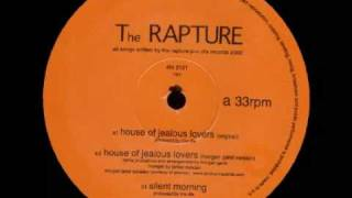 "The Rapture - House of Jealous Lovers (Original 12"" Version) - 2002 - YouTube"