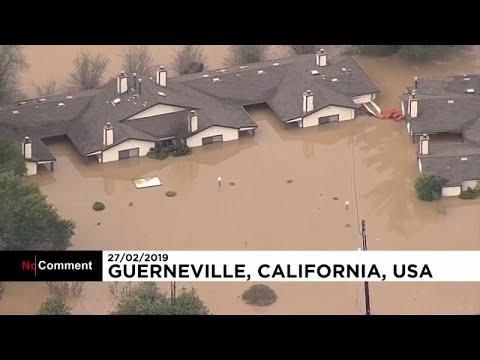 Πλημμύρες σαρώνουν την Καλιφόρνια