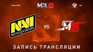 Natus Vincere vs M19, MDL CIS, game 1 [Jam, 4ce]