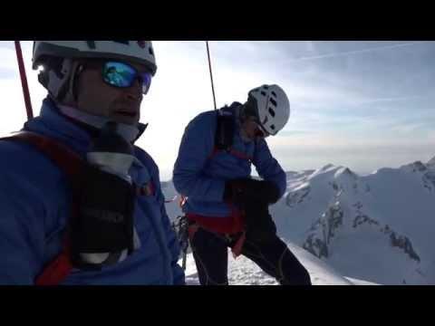 Skibergsteigen extrem - sieben Viertausender in weniger als 24 Stunden!