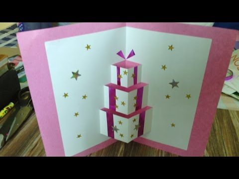 Handmade Pop Up Card