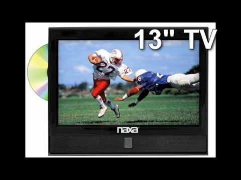 13 Inch Naxa 12 Volt AC/DC 1080i HDTV LCD DVD Combo with ATSC Digital TV Tuner