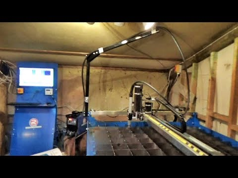 A New Year And A New Plan – Featuring The R-Tech CNC Plasma Cutter!