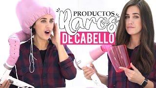 Probando productos raros de cabello para hacer ondas | ¿Funcionan o No? | Patry Jordan