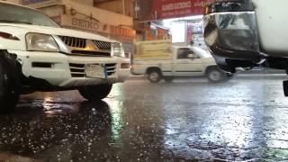 Khamis Mushayt Saudi Arabia  city photo : Hail shower in Khamis Mushayt Saudi Arabia