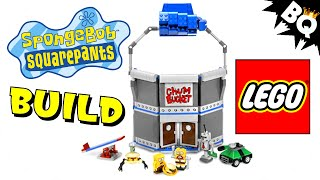 LEGO Chum Bucket SpongeBob SquarePants 4981 Flash Speed Build
