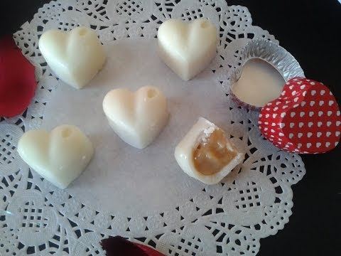 san valentino: cuori di cioccolato bianco con cuore goloso - ricetta