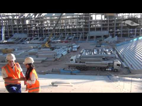 Por dentro das obras da Arena Corinthians - 18/08/2012