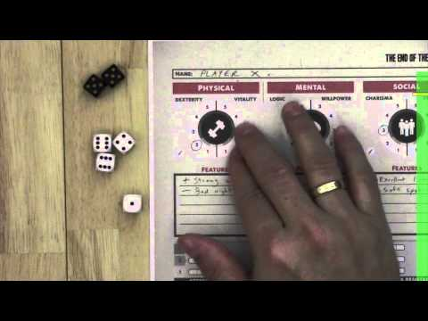 Zombie Apocalypse overview – The End of the World RPG volume 1 – from Fantasy Flight Games