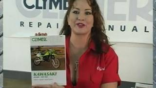 10. Clymer Manuals Kawasaki KDX200 KDX 200 KDX Manual Maintenance Repair Shop Manual Video