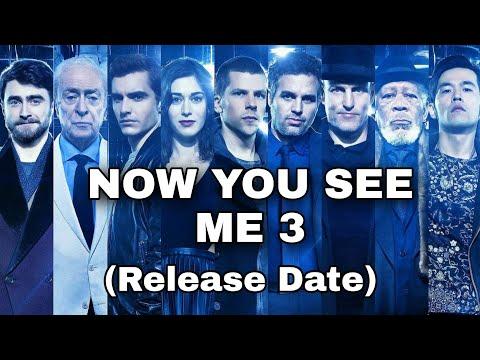 Now You See Me 3 Release Date |Daniel Radcliffe| Mark ruffalo|Morgan Freeman|NYCM3