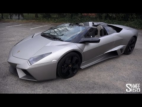 lamborghini reventon roadster - incredible sound & design!