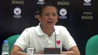 Escudero: No fight between me, Poe's husband