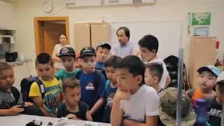 Экскурсия по Назарбаев университету (Детский баскетбольный лагерь 2017)