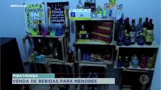 Piratininga: PM faz operação contra a venda de bebidas alcoólicas para adolescentes