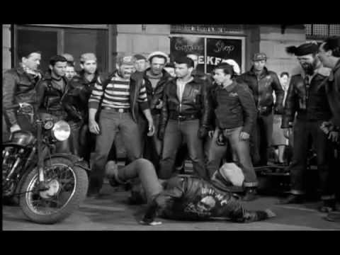 The Wild One (1953) - Fight Scene