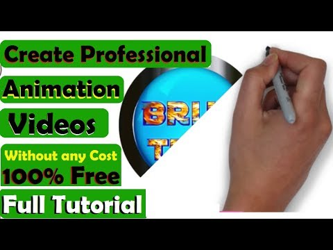 How to create whiteboard animation videos | How to use VideoScribe | Create pro Animation videos