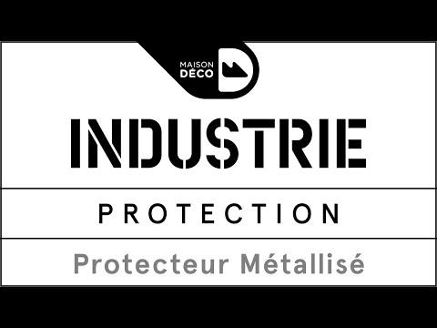 Tuto déco - Protection métallisée