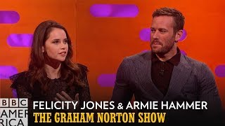 Ruth Bader Ginsburg Loves Armie Hammer | The Graham Norton Show | BBC America