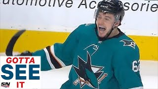 GOTTA SEE IT: San Jose Sharks Rally For 4 Goals During Unbelievable Five Minute Power Play In Game 7 by Sportsnet Canada