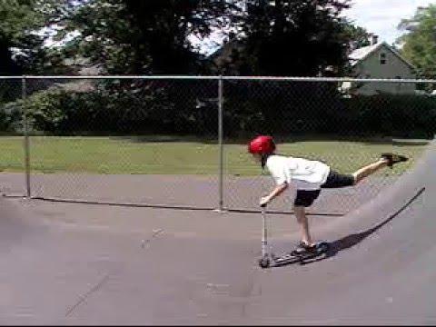 niles at the skatepark