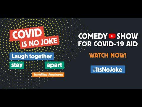 #ItsNoJoke: Time Stamps Added! Comedy fest for #Heroes4Health | COVID is No Joke: CovidIsNoJoke.org