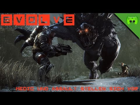 EVOLVE APLHA # 2 - Medic und Assault stellen sich vor «» Let's Play Evolve Alpha | HD