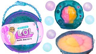Video LOL Pearl Surprise Blind Bag Ball with Fizz Shell In Water - Toy Video MP3, 3GP, MP4, WEBM, AVI, FLV Agustus 2018