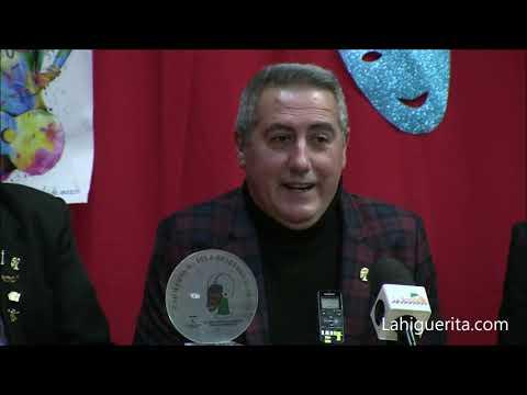 Premio Alonso Rodríguez Hachero a Fernando Aguilera Félix en los Carnavales de Isla Cristina 2020