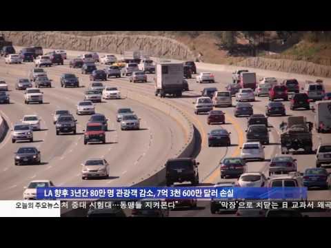 美 관광산업 180억 달러 타격 3.30.17 KBS America News